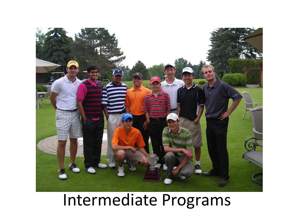 Intermediate programs